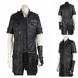 $enCountryForm.capitalKeyWord Australia - final fantasy cosplay costume Original Noctis Lucis Caelum Cosplay Final Fantasy Costume Custom-made Jacket Any Size Free Shipping