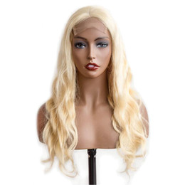 $enCountryForm.capitalKeyWord UK - 613 Full Lace Wig Body Wave Blonde Lace Front Human Hair Wigs Pre Plucked Lace Frontal Brazilian Hair Wigs For Black Women