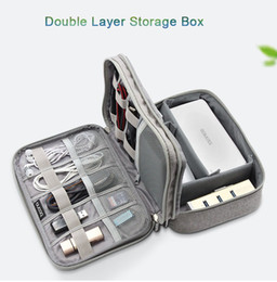 $enCountryForm.capitalKeyWord Australia - 2019 Travel Electronic Accessories Cable Organizer Bag Portable Case Cards Flash Drives Wires Earphones Double Storage Box