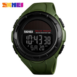 $enCountryForm.capitalKeyWord Australia - Fashion Solar Sports Watches Men Waterproof SKMEI Brand Digital Watch Solar Power Mens Wristwatches Relogio Masculino