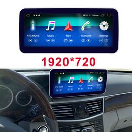 """Android 10.25"""" affichage pour Mercedes Benz Classe E W212 voiture 2009-2016 écran tactile de navigation GPS lecteur multimédia de bord stéréo radio en Solde"""