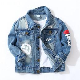 $enCountryForm.capitalKeyWord Australia - windbreaker for toddler boy Denim jacket for boys girls windbreaker for Spring jacket children denim jacket cool