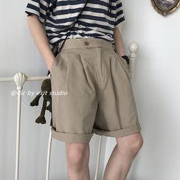 $enCountryForm.capitalKeyWord NZ - 2019 Men's Harem Leisure Casual Male Cotton Shorts Loose Brand Mens Jogger Shorts For Khaki green black Color Size S-L