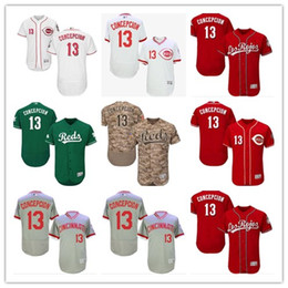2486641dbd7 Cincinnati  13 Dave Concepcion Jersrys Reds men WOMEN YOUTH Men s Baseball Jersey  Majestic Stitched Professional sportswear