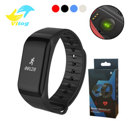 $enCountryForm.capitalKeyWord Canada - Fitness Tracker Wristband Heart Rate Monitor Smart Band F1 Smartband Blood Pressure With Pedometer smart Bracelet