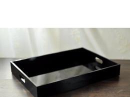 2019 Nouveau plateau de rangement acrylique classique Bijoux Organisateur Cosmétique Boîte de rangement Parfumage Soins de la peau Plateau de stockage Cadeaux de mariage cadeau VIP en Solde