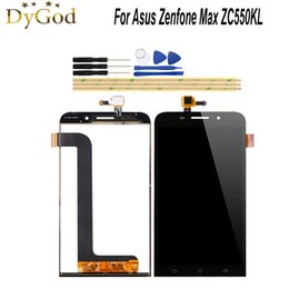 $enCountryForm.capitalKeyWord Australia - DyGod For Asus Zenfone Max ZC550KL LCD Display and Touch Screen 5.5 inch Screen Digitizer Assembly Replacement With Tools