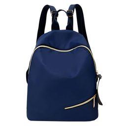 $enCountryForm.capitalKeyWord Australia - Backpack Solid Color Good Quality Alloy Zipper Backpack Student Satchel Travel School Rucksack Bag Oxford Cloth