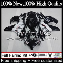 honda cbr fairings west NZ - Injection For HONDA CBR1000 RR 08 11 Black west CBR1000RR 08 09 10 11 42PG5 CBR 1000 RR CBR 1000RR 2008 2009 2010 2011 Fairing Bodywork
