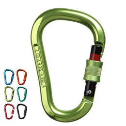 Rock masteR online shopping - Quick hanging Downhill Safety Caving Automatic Master Lock Pear type HMS Climbing X293