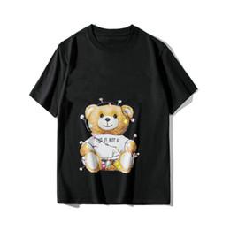 fa4fb3378968 Summer Designer brand Mens Tshirt Luxury Fashion Bear toy Christmas style  lamp bulb Letter Print T Shirt Casual T-shirt cotton Tops