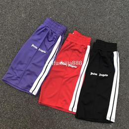 2019 Melhor Qualidade Palma Anjos Shorts Cor Sólida Moda Streetwear Palm Anjos Shorts Verão Red Palm Anjos Shorts venda por atacado