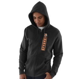 Hoodie caps online shopping - 2019 Men Cincinnati Sweatshirt Bengals Salute to Service Sideline Therma Performance Black Hyper Stack Full Zip Hoodie