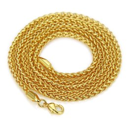 fox pendant gold 2019 - Man Gold Necklace Coarse A Basket Of Flowers Chain Neutral Concise Hundreds Of Fox Tail Chains Pendant Product Bijoux Ri