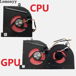 $enCountryForm.capitalKeyWord Australia - NEW Laptop cpu cooling fan for MSI GS63VR GS63 GS73 GS73VR MS-17B1 Stealth Pro CPU BS5005HS-U2F1 GPU BS5005HS-U2L1 COOLER
