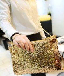 $enCountryForm.capitalKeyWord Australia - 2020 Women Glitter Sequin Handbag Shoulder Luxury Sparkling Party Evening Envelope Clutch Bag Wallet Ladies Tote Purse Crossbody Bag