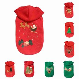 $enCountryForm.capitalKeyWord NZ - Christmas Pet Dog Clothes Funny Santa Claus Costume with Hat Chihuahua Coat Clothing Cute Pet Christmas Outfit for Dogs Cats