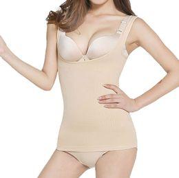 bfa15096c98 Women Body Shaper Slimming Vest Bust Up Lift Bra Cami Tank Top Underwear  Corset Shapewear Camisole slim shaper new 3fn