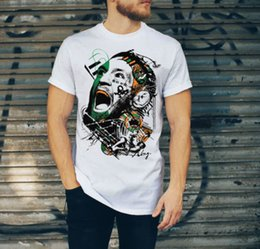 055bd0f8 T Shirt Ufc Mcgregor Conor MMA Fight Training Gym Casual KSW UK Free Summer  100% Cotton Short Sleeve Tops Tee