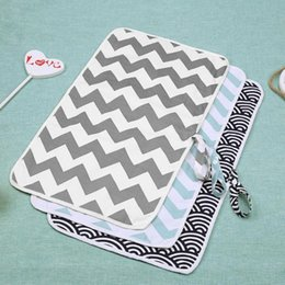 Wholesale Portable Cotton Baby Diaper Changing Mat Foldable Waterproof Baby Care Front Soft Travel Nappy Change Floor Play Pad Baby Care