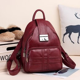 $enCountryForm.capitalKeyWord Australia - Bags For Women 2019 Vintage Soft Leather School Bags For Teenage Girls Fashion Small Luxury Backpack Bags Designer 2018