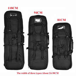 Wholesale 81cm cm cm Tactical Hunting Backpack Airsoft Rifle Gun Square Carry Bag With Shoulder Strap Sport Protection Case Backpack