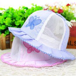 d2df3bfdb0a53 Kids Girls Bowknot Pearl Hat Fashion Baby Bucket Sun Hat Children Summer  Panama Floral Hollow Caps Baby Girls Fisherman