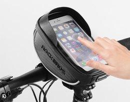 Smartphone Tools Australia - Support de vélo téléphone étanche, poignée de vélo universelle avec couvercle transparent pour smartphone à écran tactile en dessous de 6 ''