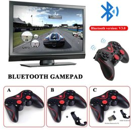$enCountryForm.capitalKeyWord Australia - Original T3 Wireless Game Controller Bluetooth Gamepad Game Console Joystick Joypad For Android IOS TV Box Tablet PC Computet Laptop
