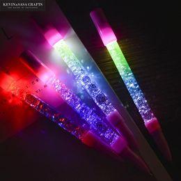 $enCountryForm.capitalKeyWord NZ - 1Pc Glitter Light Gel Pen Cute Stationery Kawaii Gel Ink Pen Stationery Office Suppliers Office And School Supplies School Tools