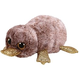 "$enCountryForm.capitalKeyWord UK - Ty Beanie Boos Stuffed & Plush Animals Perry the Platypus Toy Doll 6"" 15cm"