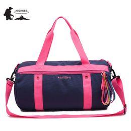 HIGHSEE Outdoor Sport Gym Bag Men Fitness Bags Women Training Handbag  Shoulder Crossbody Dry Wet Separation Swimming Bag Woman  321700 3e0f453b09dda