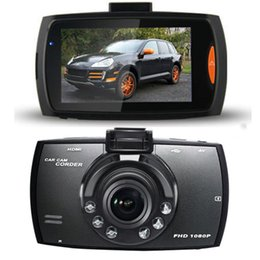 black video recorder Canada - HD 2.7 Inch 1080P LCD Car DVR Vehicle Camera Video Recorder Dash Cam Cycle Recording Led Light Night Vision