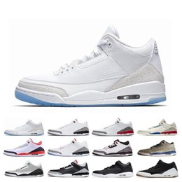$enCountryForm.capitalKeyWord Australia - Free Shipping 3 3s Men Basketball Shoes SEOUL Katrina Mocha Charity Game Pure White Infrared Fly Black III Sports Shoe Designer Sneakers