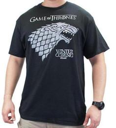 $enCountryForm.capitalKeyWord Australia - Game Of Thrones Stark Direwolf Sigil Winter Is Coming T-Shirt NWT Tee Licensed Fashion Short Sleeve 2018 Men'S Lastest