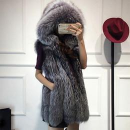 $enCountryForm.capitalKeyWord Australia - Women's Faux Fur Turn Down Collar Hooded Coat 2018 Autumn Winter Female Loose Overcoat Lady Plus Size Casual Sleeveless Outwear