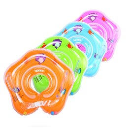 $enCountryForm.capitalKeyWord Australia - Swimming Baby Accessories Neck Ring Tube Safety Infant Float Circle for Bathing Inflatable Flamingo Inflatable Water Dropship