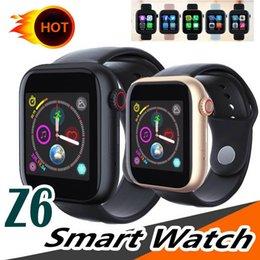 $enCountryForm.capitalKeyWord Australia - New Z6 Smart Watch With Sim Card TF Bluetooth Call Band 1.54 inch Wristband PK Q3 Q9 Sport Smartwatch Support Facebook For Samsung