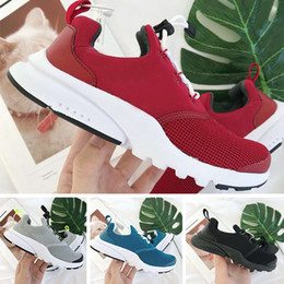 $enCountryForm.capitalKeyWord Australia - hot sale kids presto BR QS Breathe Black White Yellow Red children Shoes Sneakers baby boy prestos toddler Running Shoes Sports Walking shoe