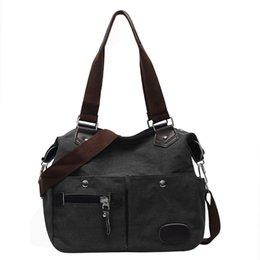 Messenger Bags Fashion Lady And Man Retro Large Capacity Canvas Wild Outdoor Sport Shoulder Bag Handbag A1 Engagement & Wedding