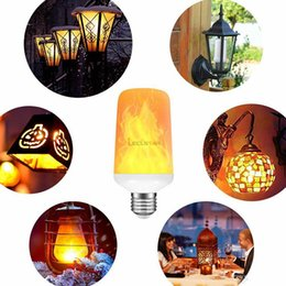 $enCountryForm.capitalKeyWord Australia - Creative 3 modes+Gravity Sensor Flame Lights E27 LED Flame Effect Fire Light Bulb 7W Flickering Emulation Decor Lamp Christmas Decorations