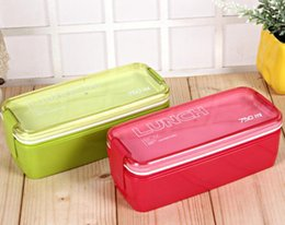 $enCountryForm.capitalKeyWord Australia - Japanese simple portable two-layer lunch box for student, microwave oven sealed bento box