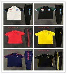 616ff0066 Polo shirt long sleeve men online shopping - Top quality Atletico Napoli  Madrid Juve RONALDO M