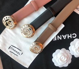 UniqUe belts women online shopping - 2018 ladies belt white texture full of unique retro style with a casual and cool fashion trend box