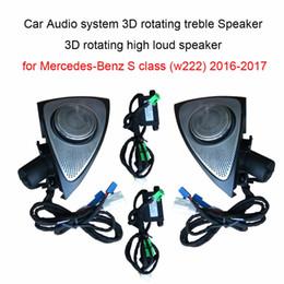 $enCountryForm.capitalKeyWord Australia - Car Audio system 3D rotating treble Speaker 3D rotating high loud speaker for Mercedes-Benz S class (w222) 2016-2017