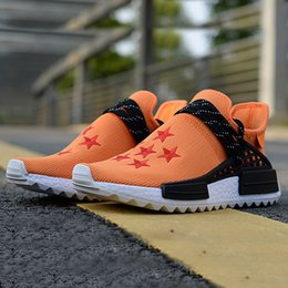 3b012f0fa Pharrell Williams Human RACE HU NMD Trail Mens Dragon Ball luxury Designer  Sports off Running Shoes for Men Sneakers Women white Trainers