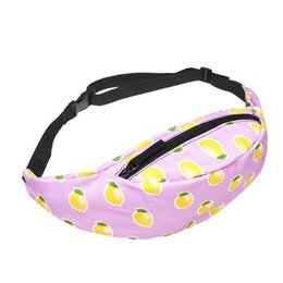 $enCountryForm.capitalKeyWord Australia - Cute Pattern Waist Fanny Pack Purse Chest Shoulder Bag Waist Packs Pouch For Ladies Girl Sport Running Fashion Belt Handing Bags