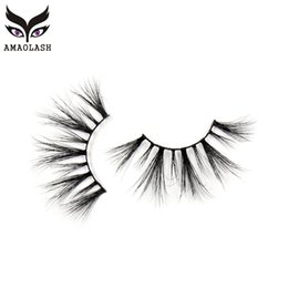 6d1321dd22a AMAOLASH 25mm Lashes Long Lasting Mink False Eyelashes Dramatic High Volume  Full stripe 3D Mink Eyelashes Natural long Lash G08