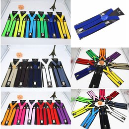 2.5cm Unisex Suspender Belt Vintage Men Suspender Shirt Stay Fashion Solid Braces Casual 3 Clips British Style Accessories FFA4782 FFA3782 on Sale