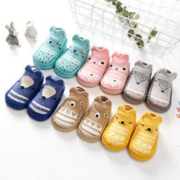Wholesale non elastic socks online – funny Spring And Autumn New Style Baby Cartoon Baby Toddler Shoes Socks Non Slip Soft Soled Shoes Children Floor Socks Ye